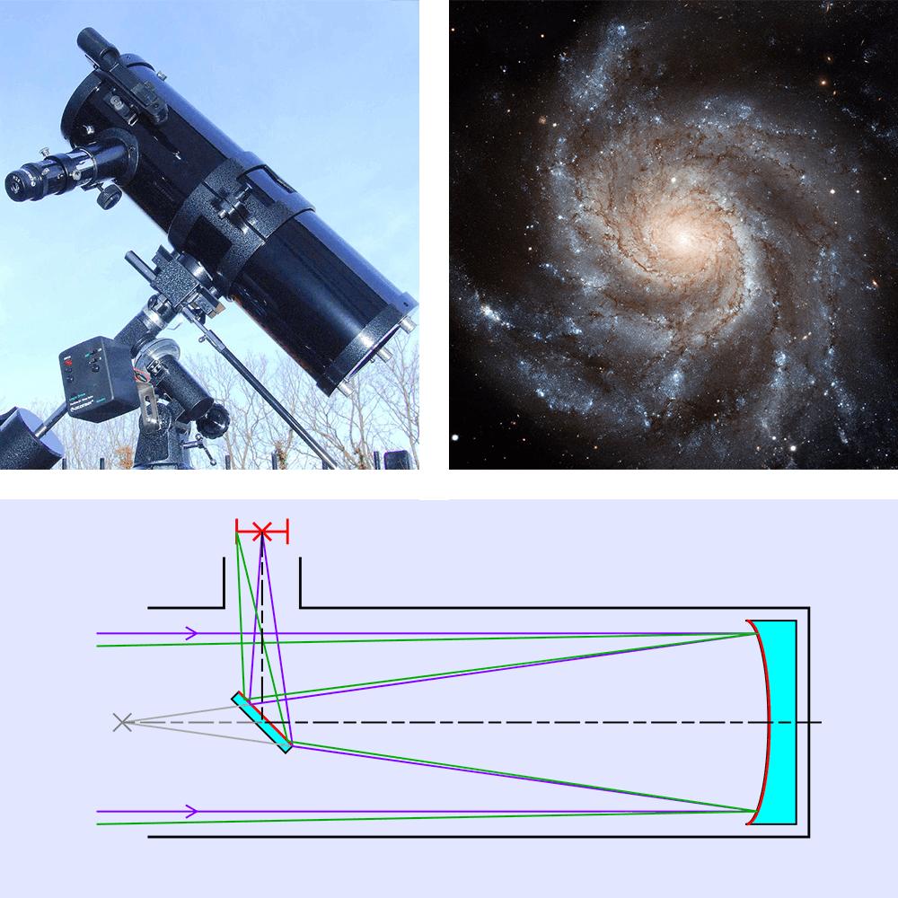 telescopio-reflector-galaxia