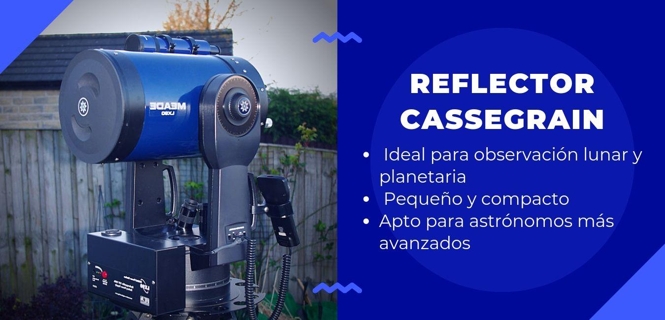 telescopio reflector cassegrain