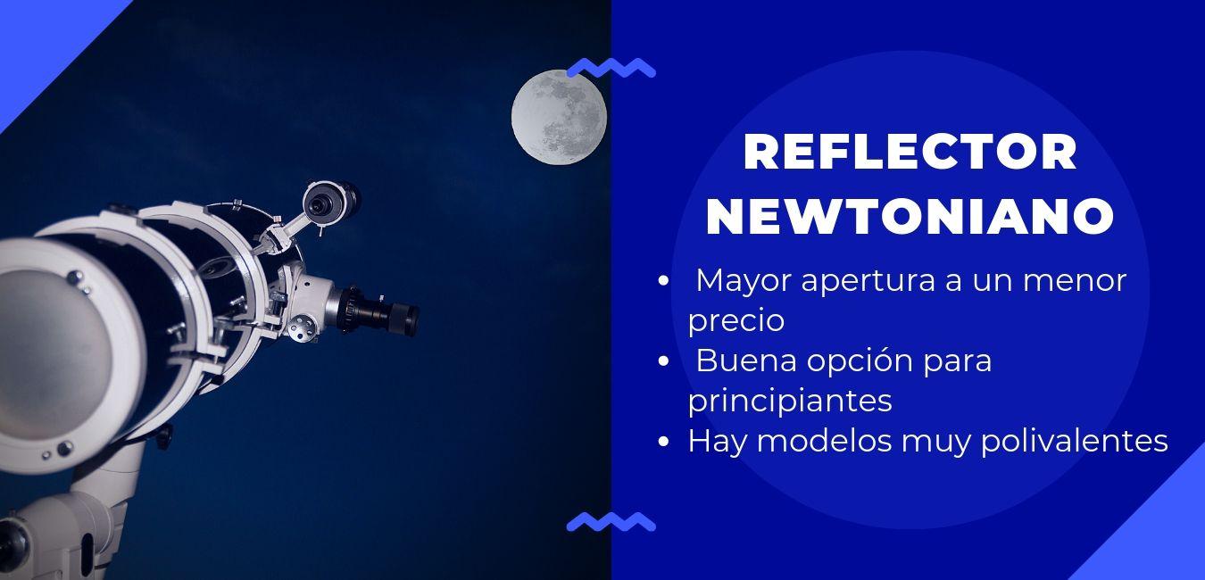 Telescopio reflector newtoniano