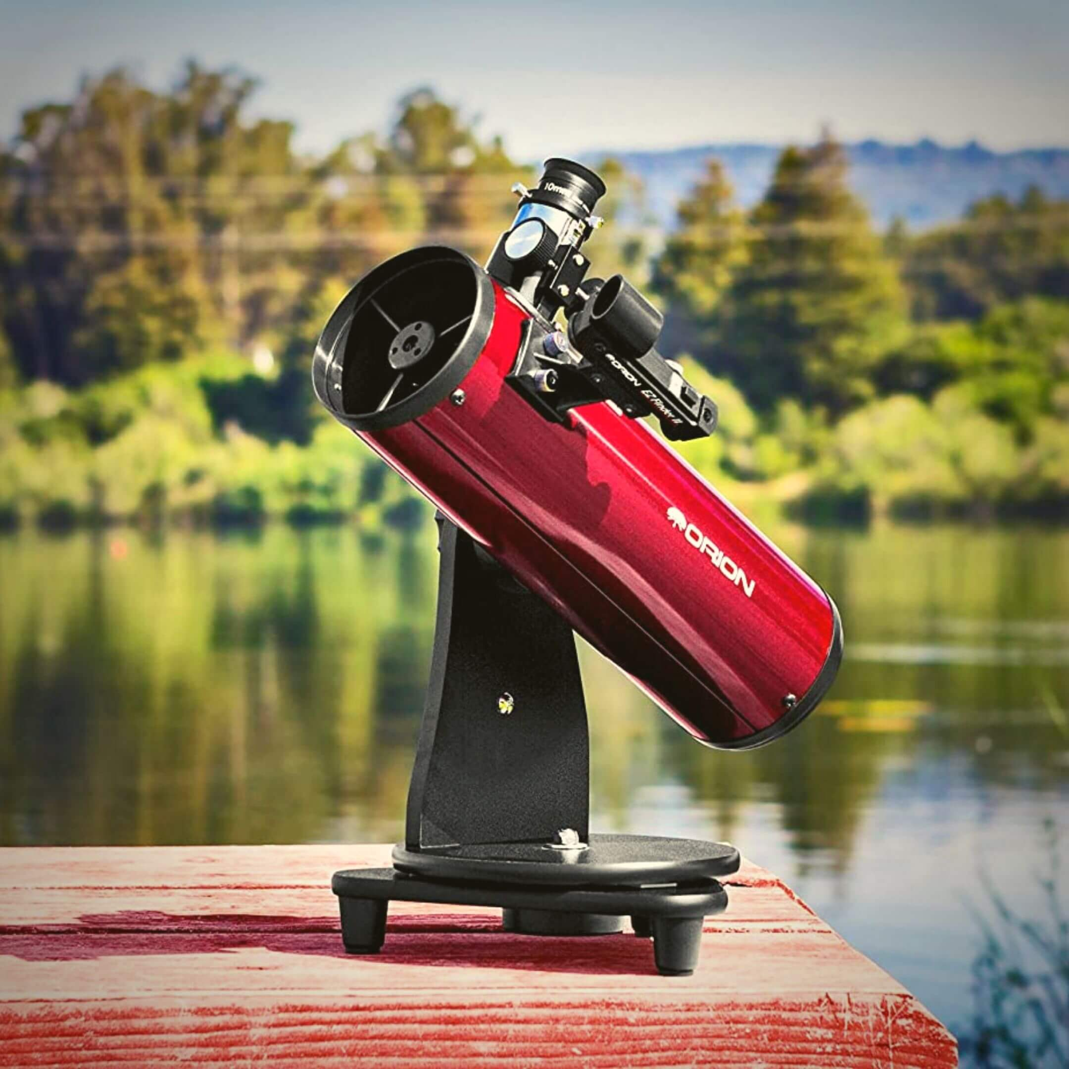 telescopio bueno de sobremesa orion