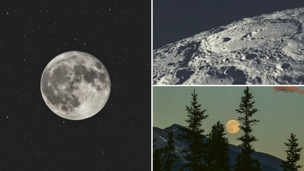 Ver la luna en astronomia