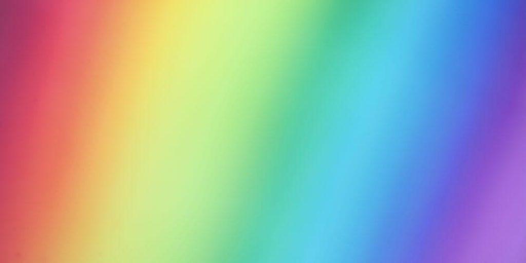 Colores del espectro visible