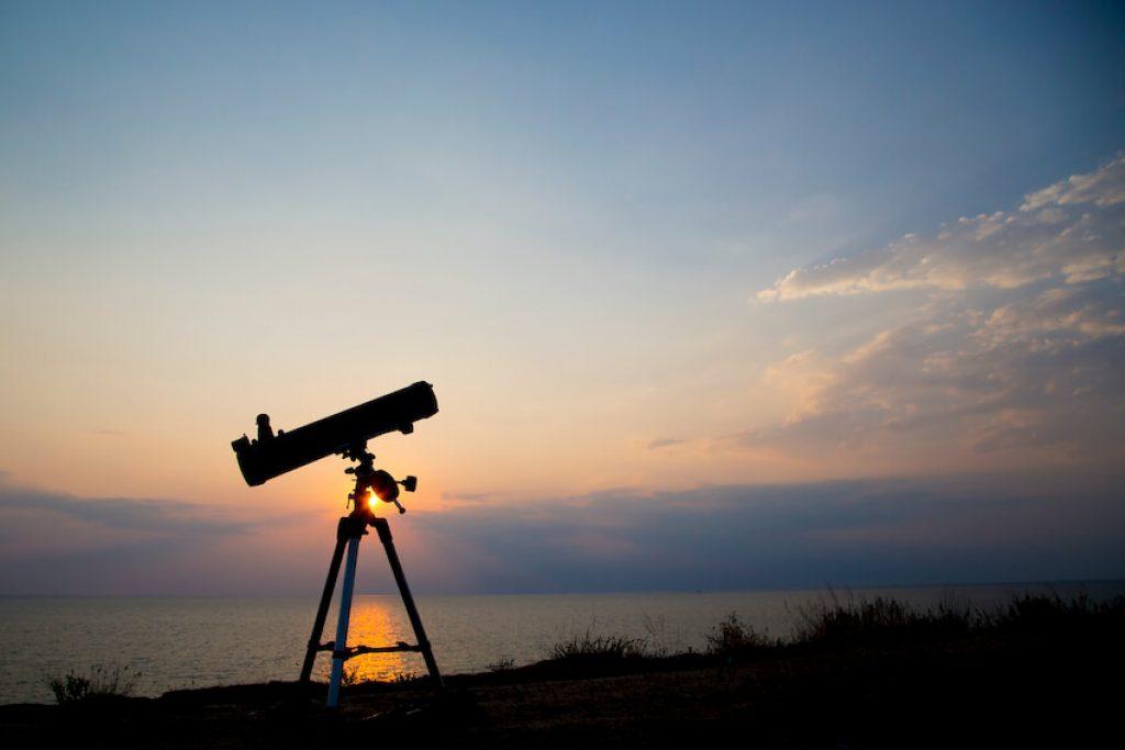 Filtro para la contaminacion luminica para telescopio