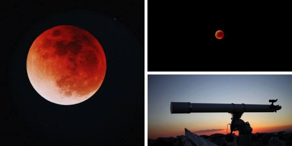 Ver marte con el telescopio