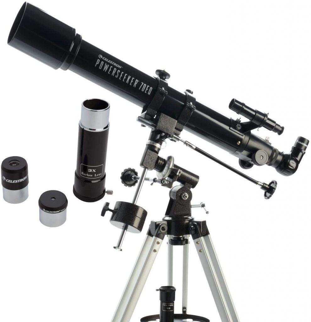 telescopio para ver planetas powerseeker